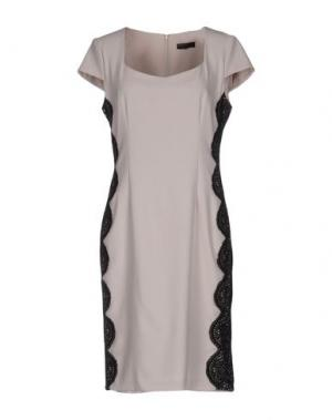 Короткое платье MISS MONEY. Цвет: светло-серый