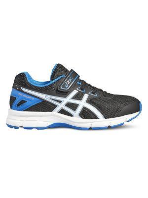 Спортивная обувь PRE GALAXY 9 PS ASICS. Цвет: черный, голубой, белый