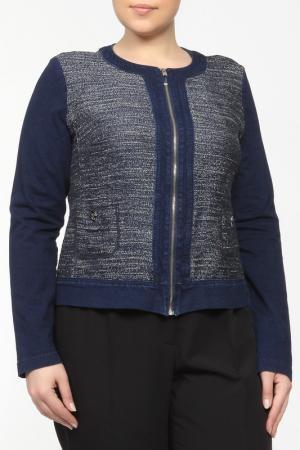 Пиджак Elena Miro. Цвет: синий