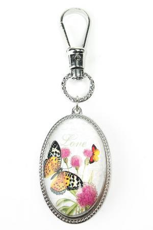 Брелок Бабочка Русские подарки. Цвет: черный, белый