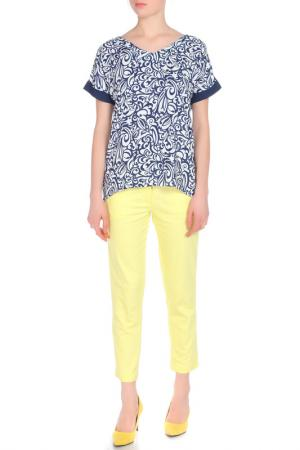Комплект с брюками Relax Mode. Цвет: желтый
