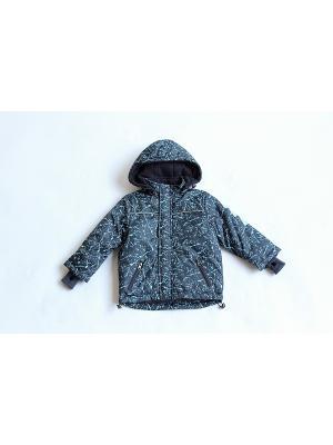 Куртка Iota. Цвет: темно-синий