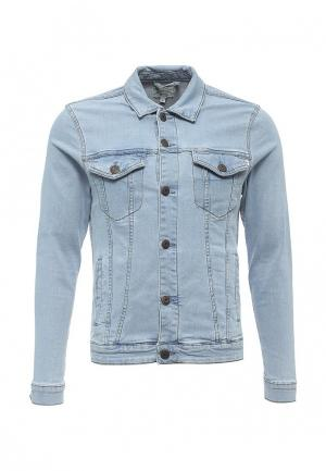 Куртка джинсовая Only & Sons. Цвет: голубой