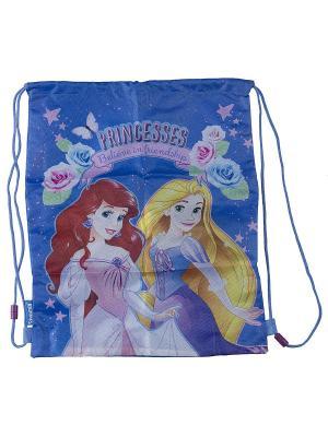 Сумка-рюкзак для обуви Disney Princess. Цвет: розовый