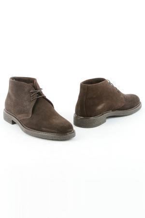 Ботинки SK. Цвет: темно-коричневый