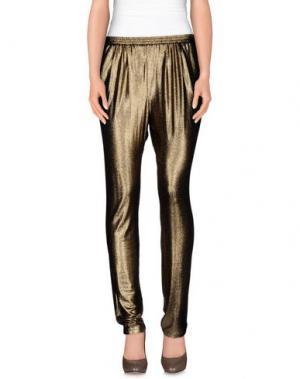 Повседневные брюки BYDANIE. Цвет: бронзовый