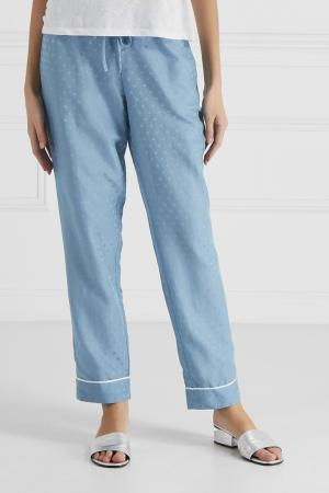 Фактурные брюки Princesse Tam-Tam. Цвет: серый