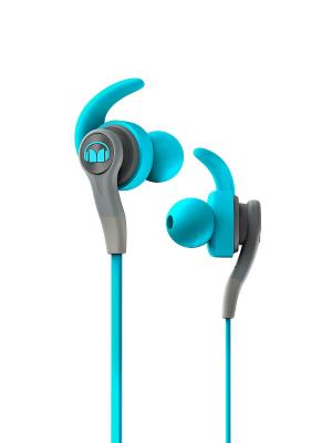 Наушники с микрофоном Monster iSport Compete In-Ear (Blue). Цвет: синий