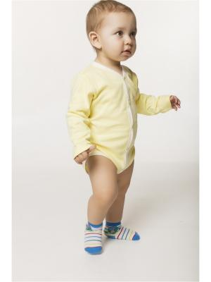 Боди ORANGE BABY. Цвет: светло-желтый, светло-бежевый