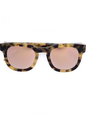 Солнцезащитные очки Garrett Leight x  No3 Thierry Lasry. Цвет: чёрный