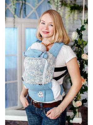 Эргономичный рюкзак  Рябина Sling Me. Цвет: голубой