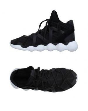 Высокие кеды и кроссовки Y-3. Цвет: черный