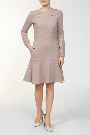 Платье Valentino. Цвет: розовый
