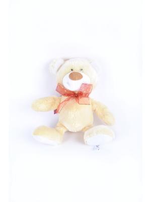 Мягкая игрушка Медвежонок Топ 2.291.2 цвет бежевый Malvina. Цвет: бежевый