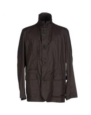 Легкое пальто ALLEGRI. Цвет: темно-коричневый