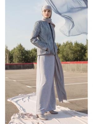 Куртка Bella kareema. Цвет: серый