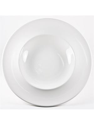 Тарелка под пасту 30 см.  Максадьюра Royal Porcelain. Цвет: белый