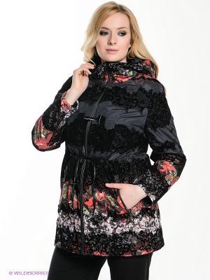 Куртка VIZANI. Цвет: черный, красный
