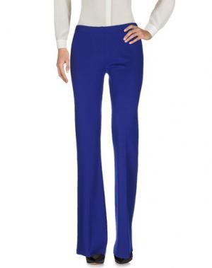 Повседневные брюки NEERA. Цвет: синий
