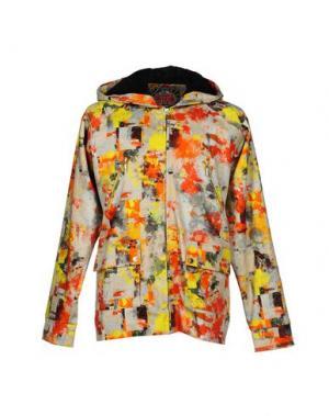 Куртка BASSO & BROOKE. Цвет: светло-серый
