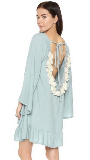 Короткое пляжное платье Indiana Basic SUNDRESS. Цвет: серый