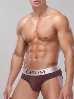 Трусы OPIUM. Цвет: коричневый
