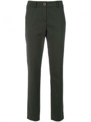 Прямые брюки Luisa Cerano. Цвет: зелёный