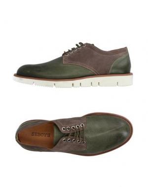 Обувь на шнурках SEBOY'S. Цвет: темно-зеленый