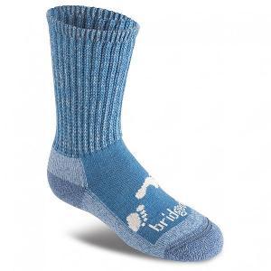 Носки средние детские  Woolfusion Trekker Storm Blue Bridgedale. Цвет: мультиколор