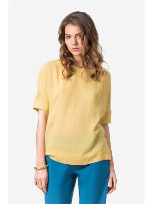 Блузка HELMIDGE. Цвет: горчичный