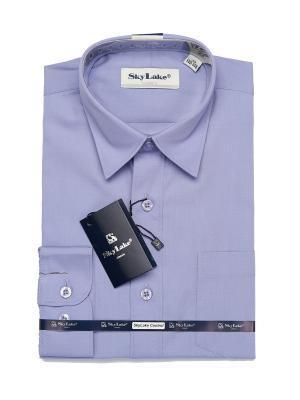 Рубашка Sky Lake. Цвет: голубой