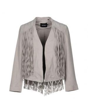 Пиджак DOMA. Цвет: светло-серый