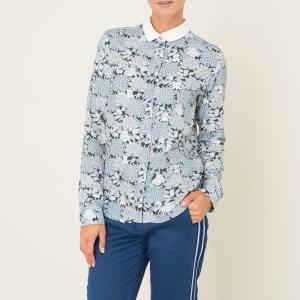 Рубашка BIBOUX EXCLUSIVITE BRAND BOUTIQUE PAUL AND JOE SISTER. Цвет: синий/ белый
