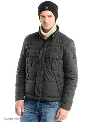 Куртка Calvin Klein. Цвет: антрацитовый