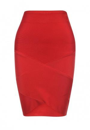 Юбка Manosque. Цвет: красный