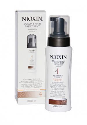Питательная маска Система 4 Nioxin. Цвет: белый