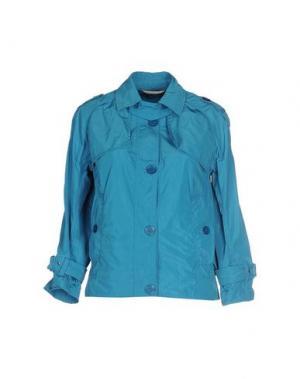 Куртка 313 TRE UNO. Цвет: бирюзовый