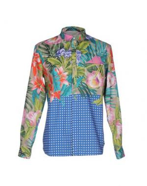 Pубашка GAETANO NAVARRA. Цвет: светло-зеленый