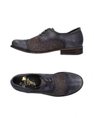 Обувь на шнурках FELMINI. Цвет: серый