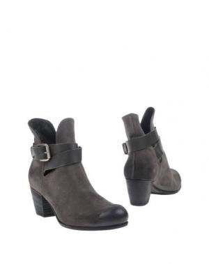 Полусапоги и высокие ботинки INK. Цвет: свинцово-серый