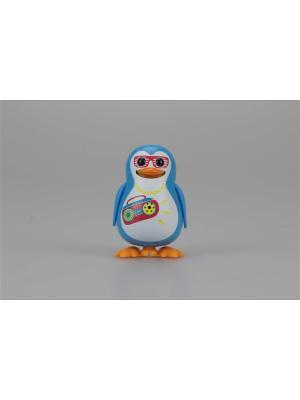Пингвин с кольцом, голубой, диджей Silverlit. Цвет: голубой