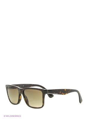 Солнцезащитные очки PRADA. Цвет: коричневый