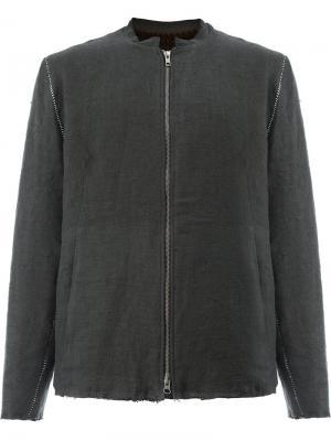 Куртка с меховой подкладкой By Walid. Цвет: чёрный