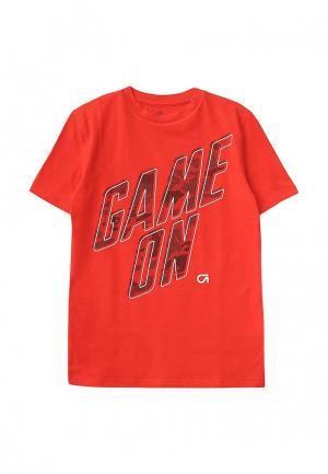 Футболка Gap. Цвет: красный