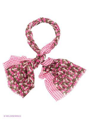 Палантин Venera. Цвет: розовый, зеленый