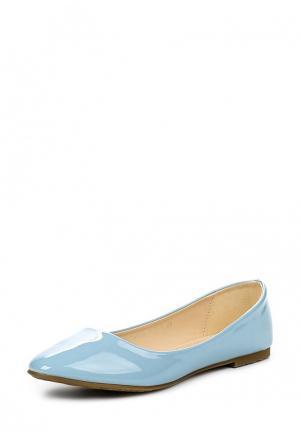 Балетки Evita. Цвет: голубой
