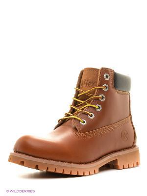 Ботинки Affex. Цвет: коричневый