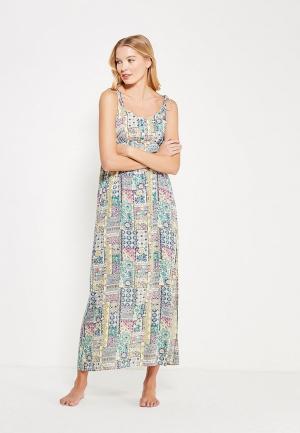 Платье домашнее Mia-Mia. Цвет: зеленый