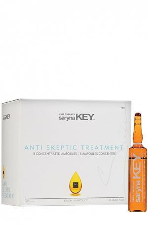 Ампула от выпадения волос Анти Скептик Unique Pro Saryna Key. Цвет: бесцветный