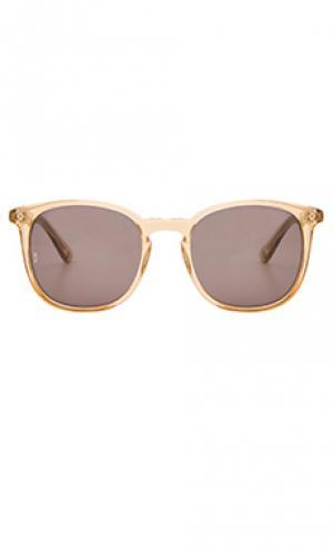 Солнцезащитные очки barstow Wonderland. Цвет: желтый